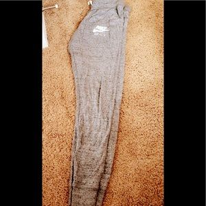 Women Nike grey sweatpants